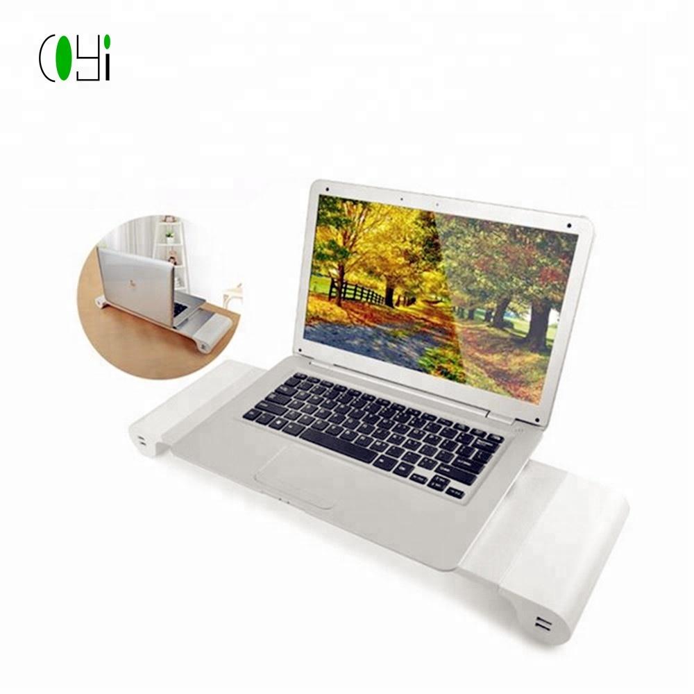 Portable Computer Gadget Monitor Laptop Office Desk Organizer