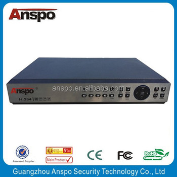 2 HDD Capacity real-time encoding 4CH Playback 16CH AHD DVR