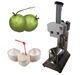 portable diamond shape green coconut peeling machine/coconut cutting machine