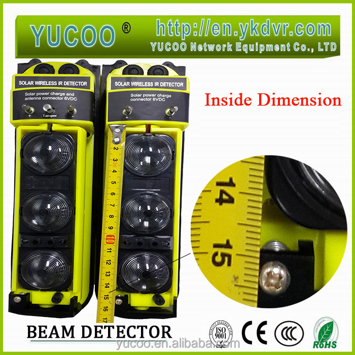 Outdoor Wireless Solar Photoelectric Infrared Beam Detector