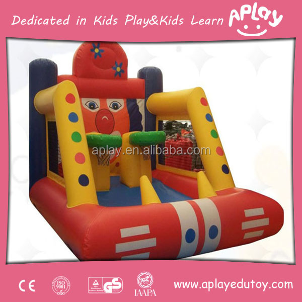 Water theme park fun hopping games jumping slide commercial bouncy castles for sale