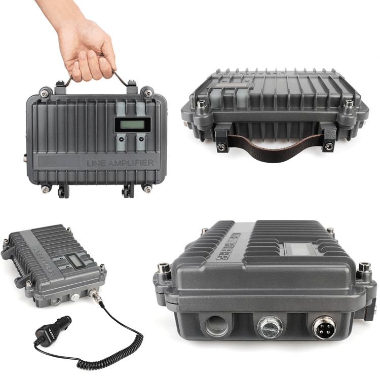 Melhorar a distância de alta potência full duplex mini repetidor para rádio em dois sentidos
