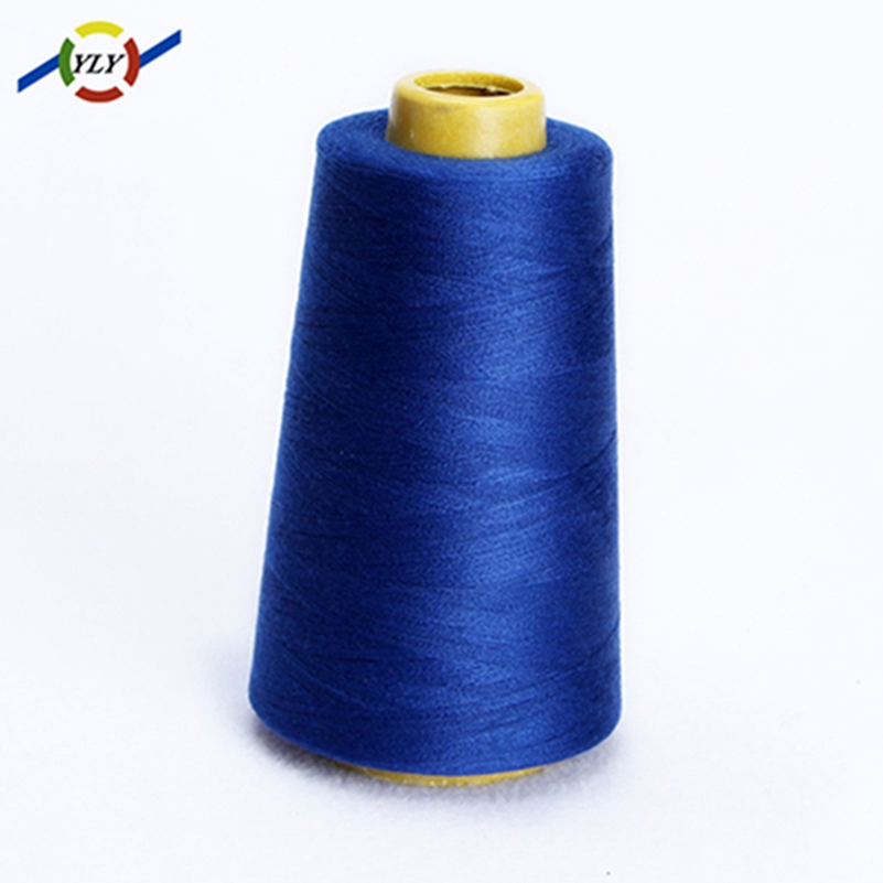 ecoverde textured recycled polyester continuous filament recycled polyester 100% spun polyester jeans sewing sewing thread 20/2