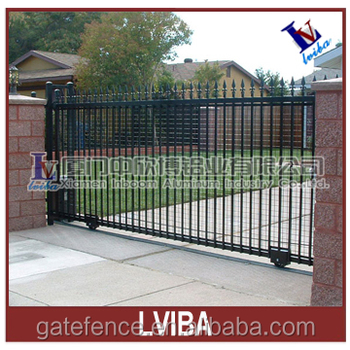 Wrought iron sliding gate sliding iron main gate design - Sliding main gate design for home ...