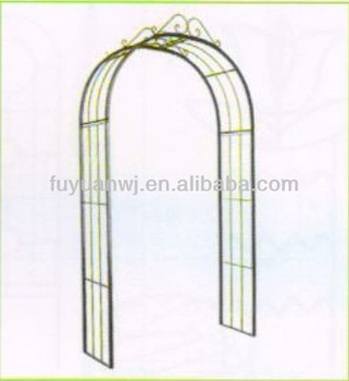 Galvanized Competitive Price Metal Garden Arch For Sale