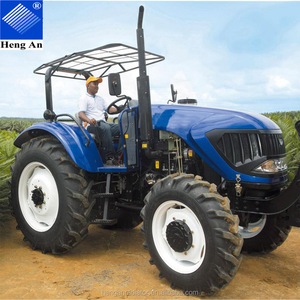 80HP 4WD Farm Tractor Agriculture Tractor with Farm Implement