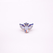 hot selling high quality owl animal lapel pins badge WP545