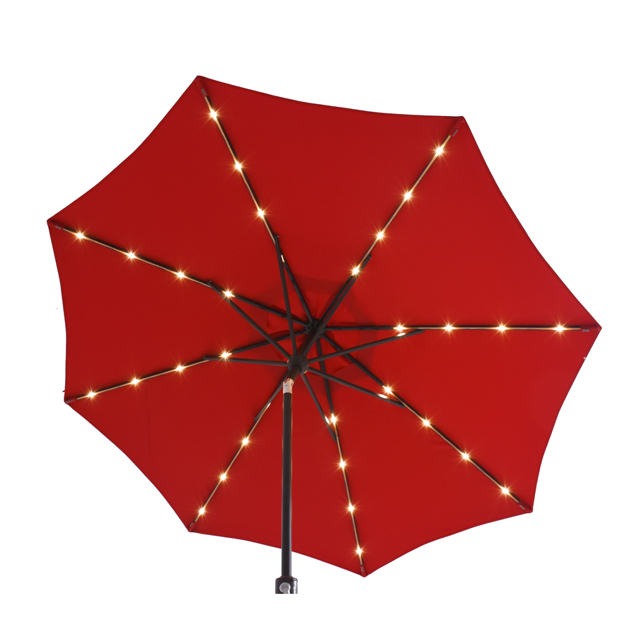 2.5m Solar Led Lights China Outdoor Umbrella Parts