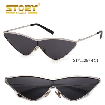 Story Sty11257n Vintage Cat Eye Sunglasses Women Small Triangle Sun ...