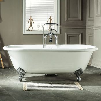 antique freestanding cast iron bath tub for sale in Anping