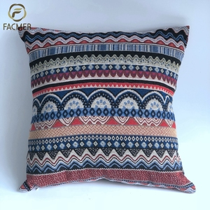 Hot sale Indian kilim moroccan style handmade sofa chair cushion covers for home decor