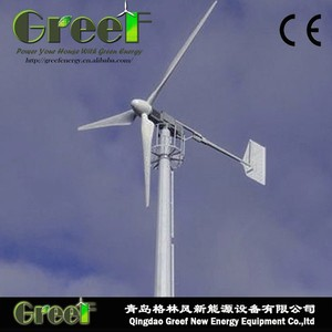 20kw on-grid horizontal axis wind generator for cell tower use , wind turbine plant 20kw