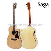 saga guitar with good guitar neck ,D300C