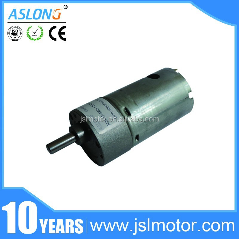 high torque JGB37-540 zheng gear motor