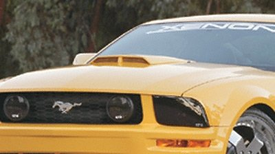 Buy Ford Mustang Hood Functional Ram Air Hood With Scoop