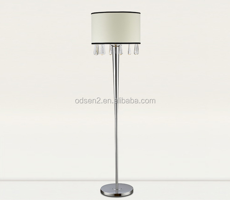 wholesale cheap chinese crystal home goods floor lamps