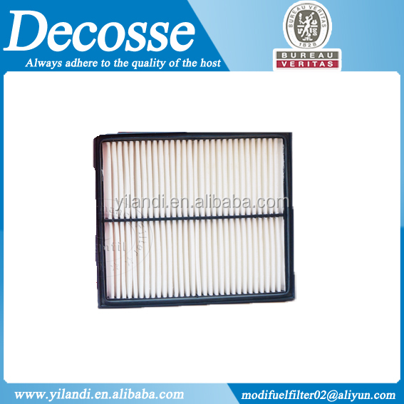 Automobile part PP air filter JE15-13-Z40 with BV certificate