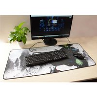 oem foldable long gaming keyboard and mouse pad