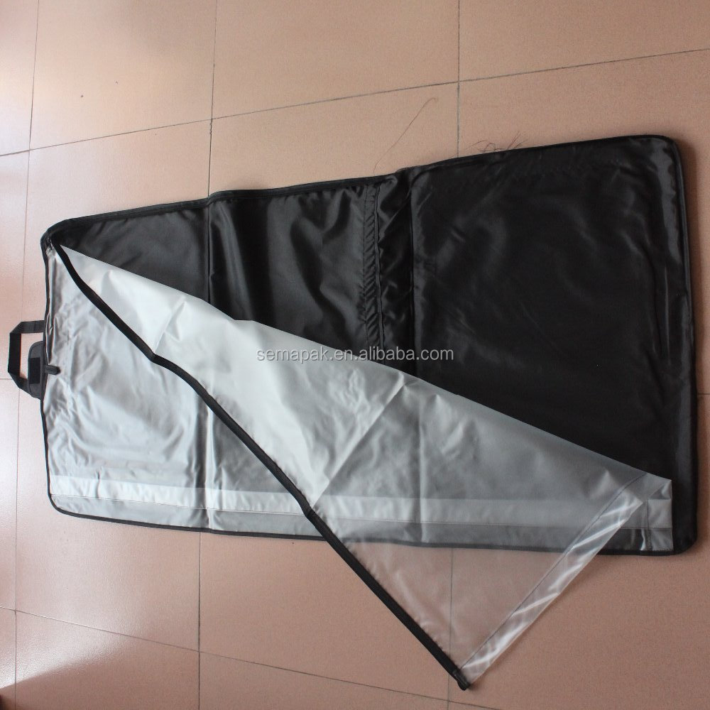 non woven wedding dress cover bag wholesale