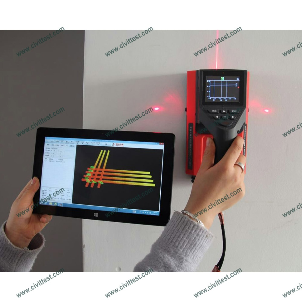 Integrated Type Deep Scanning Metal Locator Rebar Detector