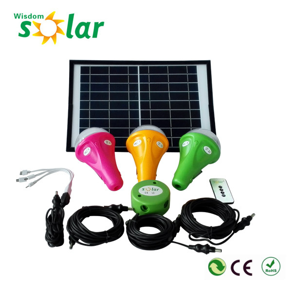 Jr-cgy12w Portable Energy Saving Solar Operated Led Bulb For ...