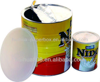 Aluminium d coller feuille couvercle du r cipient buy for Maison container 50000