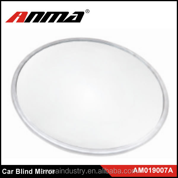 Car Mirror Side View Blind Spot & Wide Mirror Stick on Auxiliary Angle Adjustable