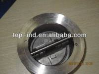 butterfly and swing type wafer check valve