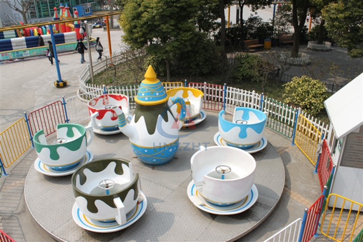 good price indoor amusement park/ funfair rides musical coffee cup rides with 24 seats/ china making machine for kids and adult