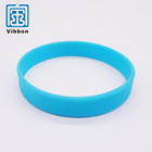 Rubber wristbands Promotional colorful silicone wristband / Customized logo free bracelet wristbands
