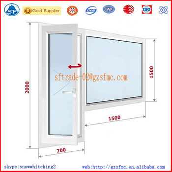 Commercial Aluminum Glass Window And Door Frames - Buy Aluminum ...