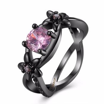 Charm Diamond Ring Inlay Dubai Ring Designs For Girlsgemstone Ring