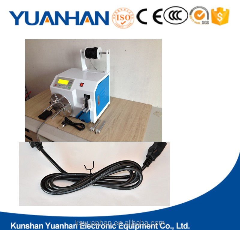 PVC coated tie wire cable tying winding tools plastic twist ties machine