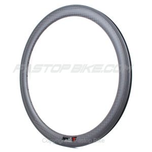 Lightweight full carbon 50mm clincher road rims