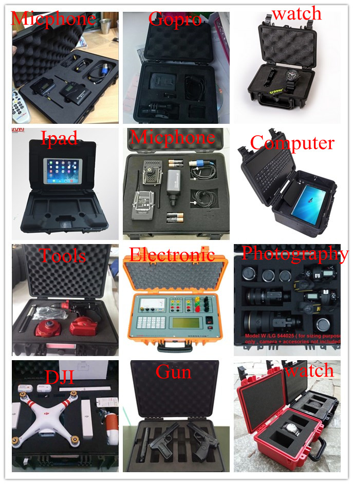 Waterproof Hard Plastic Protective Case Digital Stamping Printer Printing Machine Box Carry Case