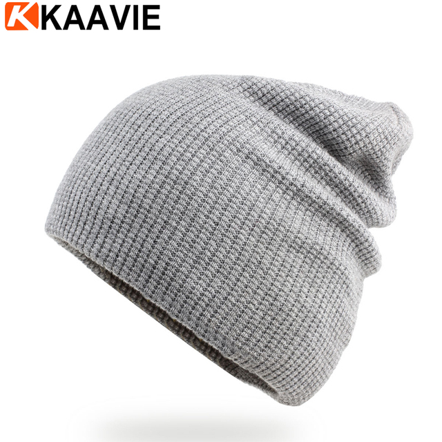 74607b41621 Custom winter ski solid color grey black girls kintted baggy slouch acrylic  beanie hats