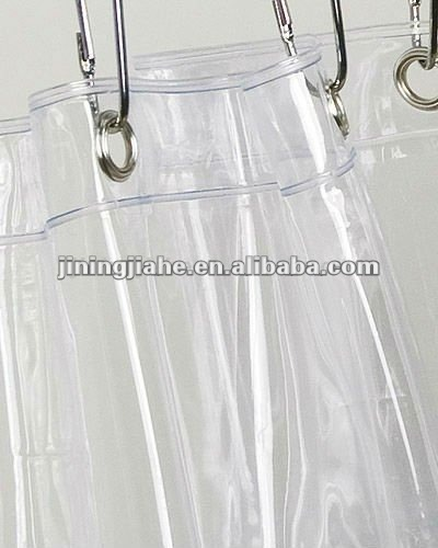 Transparent PVC Shower Curtain Liner