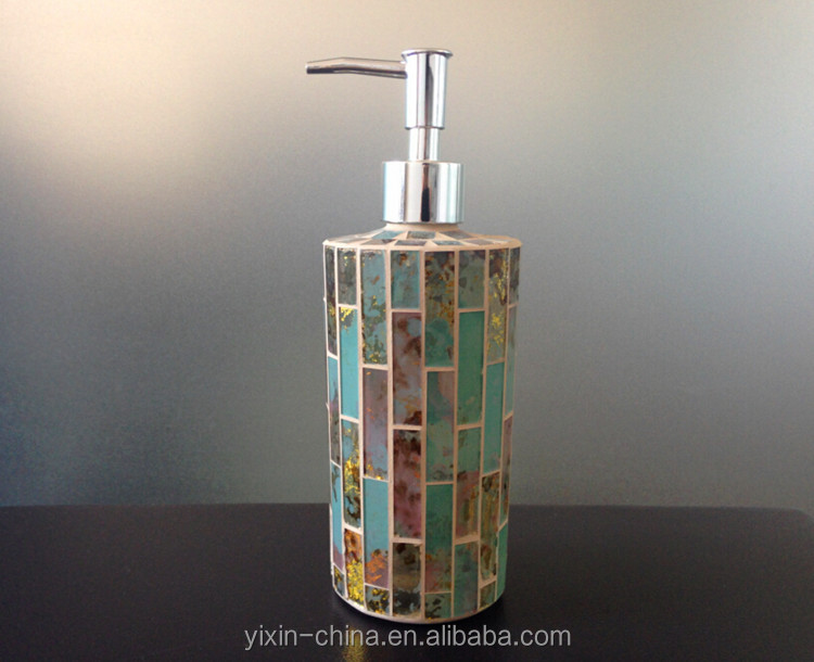 Very Gold Mosaic Bathroom Accessories Bathroom Accessories And