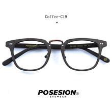 Posesion винтажная деревянная оправа для очков прозрачные линзы для женщин и мужчин оптические с диоптрией близорукость очки для дальнозоркос...(Китай)