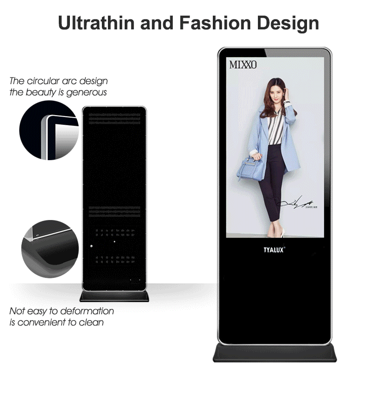 49Inch Digital Advertising Player Screen Floor Standing Digital Signage