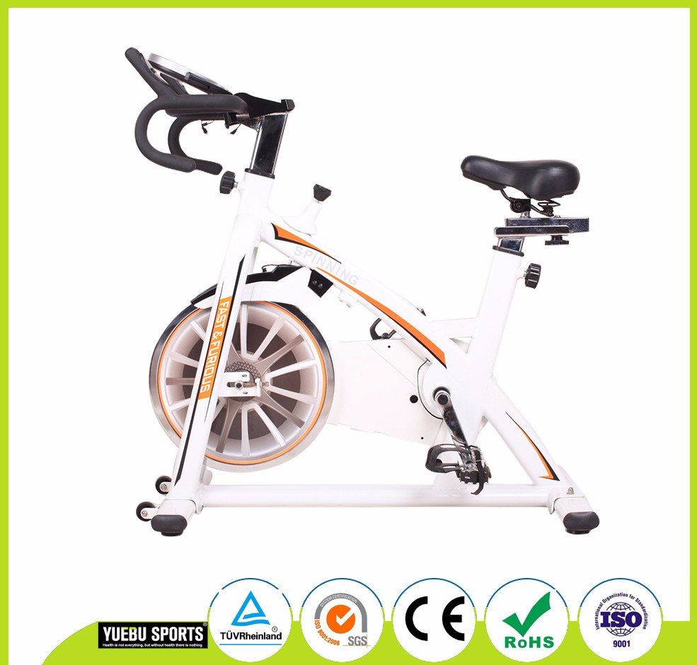 2017 new arrival bicycle trainer gym exercise spin bikes durable