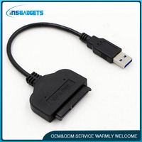 Usb 3.0 to sata device adapter ,h0tPF sata hard drive cable adapter for sale