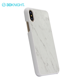 Fashion marble phone case cover slim for iphone X 3d phone case made in china