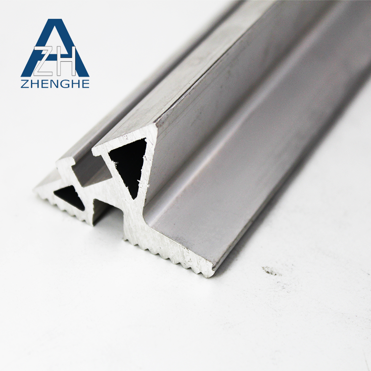 zhenghe product 6063 t5 extruded profile aluminium triangle tube
