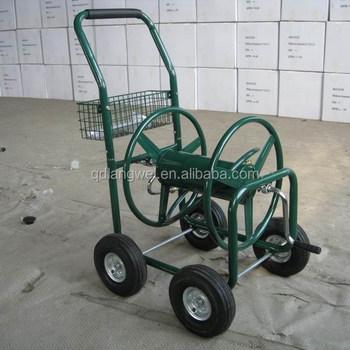 Top Garten-wasserschlauch-rollenwagen Aus Metall Für 4 Räder - Buy JP13
