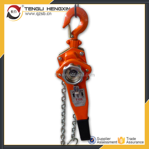 High quality Manual ratchet 1.5 ton lever chain hoist