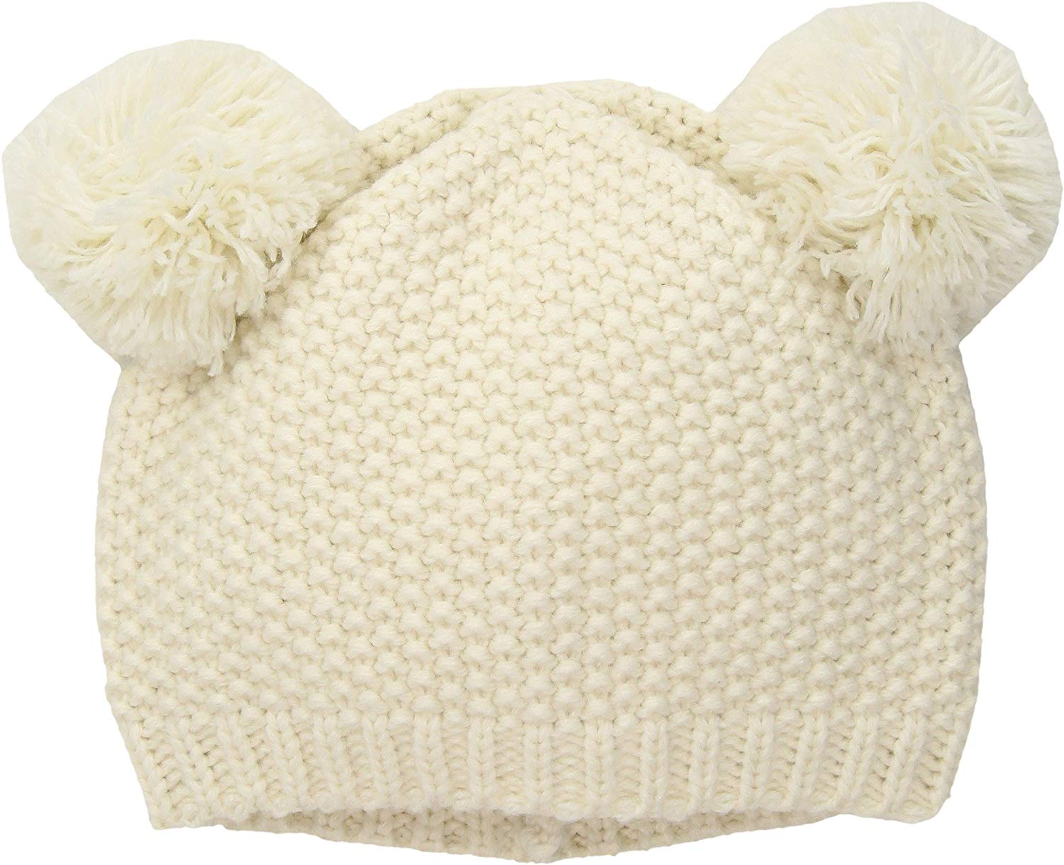 4833d058 Get Quotations · San Diego Hat Company Kid's Knit Beanie with Two Pom Ears
