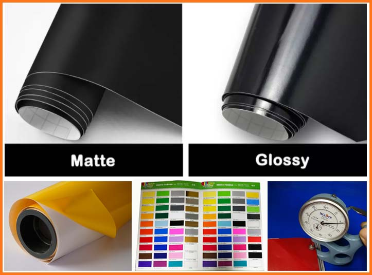 Graphic wall covering color cutter pvc self adhesive vinyl for cutting plotter