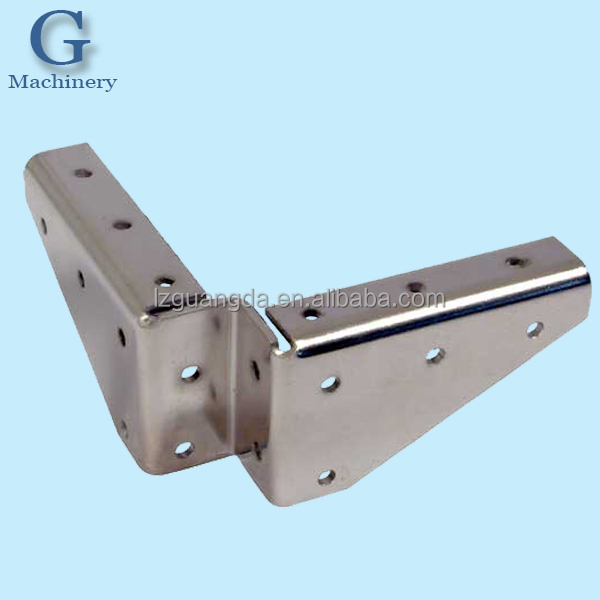 Custom sheet metal angle bracket