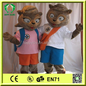 HI CE hot sale Movie character costume,Christmas cartoon mascot,squirrel mascot costume